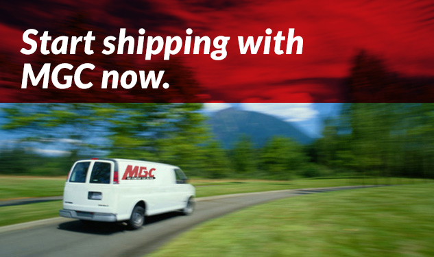 Start shipping with MGC now.